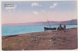 Cpa,1908,la Mer Morte,lac D'eau Salée Du Proche Orient,qui Touche Israel,la Cisjordanie,et La Jordanie,prés Du Jourdain - Jordanie