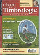 L' ECHO DE LA TIMBROLOGIE  N° 1747 + SCANN SOMMAIRE - Tijdschriften