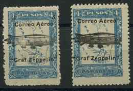 Paraguay (1931) PA N 44 A 45 (charniere) - Paraguay