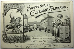 SOUVENIR DE CLERMONT-FERRAND - LE PUY DE DÔME - Unclassified