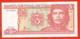 Cuba 2006. 3 Pesos.UNC. - Cuba