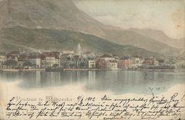 MAKARSKA DALMATIA HRVATSKA CROAZIA, PC, Circulated - Kroatien