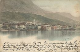 MAKARSKA DALMATIA HRVATSKA CROAZIA, PC, Circulated - Croatie