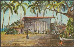 Iris Smallwood Davies - Malabar Beach Hotel, Castries, St Lucia, C.1960 - Dukane Press Postcard - Saint Lucia