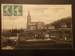 Carte Postale -  LA TOUR DU PIN (38) - Quartier De L'Eglise (2136) - La Tour-du-Pin