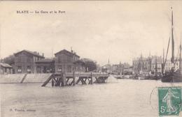 (38)   BLAYE - La Gare Et Le Port - Blaye