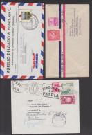 Ecuador 3 Letters, Pro Tourismo 1954, Asegurese En Patria, - Ecuador