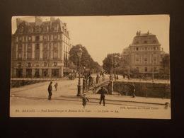 Carte Postale - RENNES (35) - Pont Saint Georges Et Avenue De La Gare - Le Lycée (2139) - Rennes