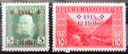 BOSNIE-HERZEGOVINE              N° 89/90                    NEUF* - Bosnië En Herzegovina