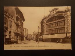 Carte Postale - HYERES (83) - Avenue Gambetta Et Dames De France (2141) - Hyeres