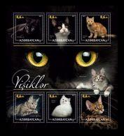 Azerbaïjan (KM) 2017 No. 1/6 Fauna. Cats (I) MNH ** - Azerbaïjan