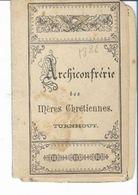 MA69/ CONFRERIE MERE CHRETIENNES TURNHOUT  1886:EMILE BOONE? DESOMER? - Religion & Esotericism