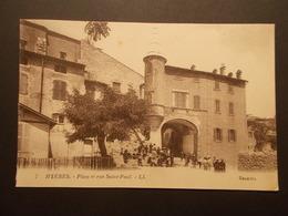 Carte Postale - HYERES (83) - Place Et Rue Saint Paul (2143) - Hyeres