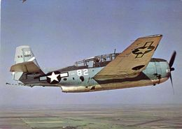 Grumman TBF-1 Avenger  -  Torpedo-Bomber  -  CPM - 1939-1945: 2ème Guerre