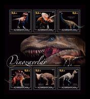 Azerbaïjan (KM) 2017 No. 31/36 Prehistoric Fauna. Dinosaurs (II) MNH ** - Azerbaïjan