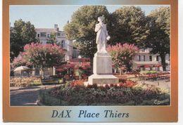 40...DAX 2001 PLACE THIERS STATUE  JEAN CHARLES DE BORDA - Dax