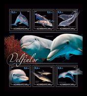 Azerbaïjan (KM) 2017 No. 37/42 Fauna. Dolphins MNH ** - Azerbaïjan