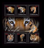 Azerbaïjan (KM) 2017 No. 85/90 Fauna. Tigers MNH ** - Azerbaïjan