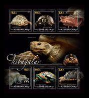 Azerbaïjan (KM) 2017 No. 91/96 Fauna. Turtles MNH ** - Azerbaïjan
