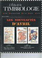 L' ECHO DE LA TIMBROLOGIE  N° 1509 + SCANN SOMMAIRE - Tijdschriften