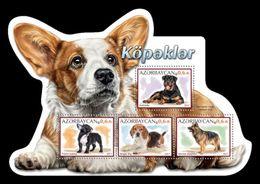 Azerbaïjan (KM) 2017 No. 101/04 Fauna. Dogs MNH ** - Azerbaïjan