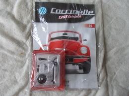 Altaya Coccinelle 1303 Cabriolet Volkswagen Numéro 25 - Maquettisme