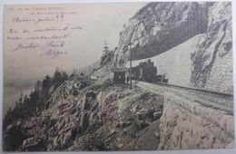 CH. DE FER YVERDON-Ste-CROIX : LES RAPILLES DE BAULMES - CPA De 1901 - VD Waadt