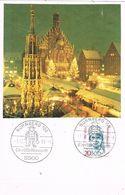 27851. Tarjeta NURNBERG (Alemania Federal) 1989. Christkndl. Navidad - [7] República Federal