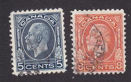 Canada, Scott #199-200, Used, George V, Issued 1932 - 1911-1935 Règne De George V