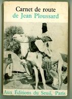 """Jean Ploussard - """"Carnet De Route"""" - 1964 - Biographien"""