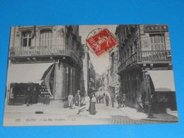 41 ) Blois - N° 297 - La Rue Foulerie  : Année 1908 : EDIT : LL - Blois