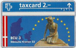 Switzeland - Swisscom - L&G - Ecu Series Denmark - 510L - 10.1995, 500ex, Mint - Suiza