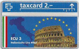 Switzeland - Swisscom - L&G - Ecu Series Italy - 510L - 10.1995, 500ex, Mint - Suiza