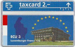 Switzeland - Swisscom - L&G - Ecu Series Luxemburg - 510L - 10.1995, 500ex, Mint - Suisse