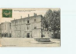 SAINT ETIENNE De SAINT GEOIRS - Hôtel De Ville Et La Poste - 2 Scans - France
