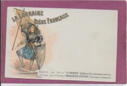 LA LORRAINE - BIERE FRAN¢AISE - Publicité