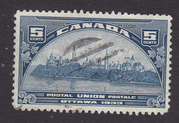 Canada, Scott #202, Used, Government Buildings, Issued 1933 - 1911-1935 Reign Of George V