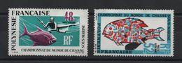 POLYNESIE FRANCAISE - POSTE AERIENNE YVERT N° PA 29/30 SG SANS GOMMES - Luchtpost