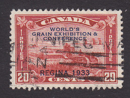 Canada, Scott #203, Used, Harvester Overprinted, Issued 1933 - 1911-1935 Reign Of George V
