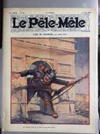 Le Pele Mele Rabier Couverture Par Carl Hap L'arc De Triomphe  1er Juin 1919 - Journaux - Quotidiens