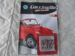 Altaya Coccinelle 1303 Cabriolet Volkswagen Numéro 47 - Maquettisme
