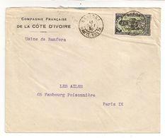 LETTRE DE HAUTE VOLTA / 1930 - Upper Volta (1958-1984)