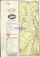 91090 ARGENTINA V. SAN JOSE COLON CONCORDIA PLANO FERROCARRIL 20 X 28 CM PUBLICITY SHELL MAPA NO POSTAL POSTCARD - Other Collections