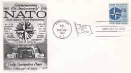 USA FDC 1959 NATO (SKO15-26) - Militaria