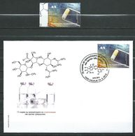 Macedonia 2018 FDC And Stamp- Science And Discovery-The 75th Ann. Of Discovery Of Streptomycin, Against Tuberculosis.MNH - Macedonia