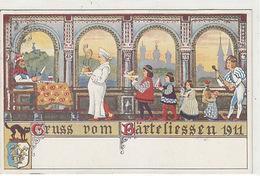 Luzern - Gruss Vom Bärteliessen - Litho  1911      (80312) - LU Lucerne
