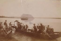 ASIE / VIETNAM / PHOTO DEBUT 1900 PHU DIEM / TRAVERSEE DE RIVIERE - Plaatsen