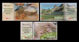 Cape Verde 2012 Mih. 1035/37 Food And Agriculture Organization Of The United Nations. Gastronomy MNH ** - Cape Verde