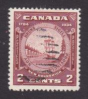 Canada, Scott #210, Used, Seal Of New Brunswick, Issued 1934 - 1911-1935 Règne De George V