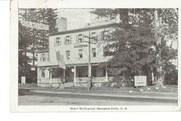 Cpa Hotel Wellswood Hampton Falls 1926 - Etats-Unis